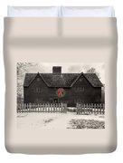 Whipple House Christmas Duvet Cover