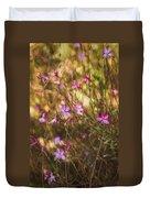 Whirling Butterfly Bush Duvet Cover