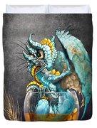 Whiskey Dragon Duvet Cover