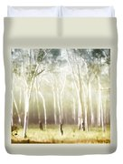 Whisper The Trees Duvet Cover by Holly Kempe