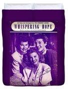 Whispering Hope Duvet Cover