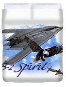 Whispering Spirit Duvet Cover