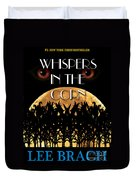 Whispers In The Corn Book Cover Duvet Cover