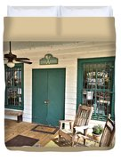 Whistle Stop Cafe Duvet Cover