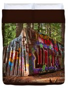Whistler Train Wreck Duvet Cover
