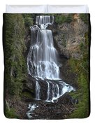 Whistler Waterfalls - Alexander Falls Duvet Cover