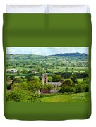 Whitchurch Canonicorum Overview  Duvet Cover