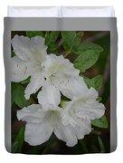 White Azalea 14-1 Duvet Cover