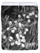 White Berries Duvet Cover