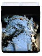 White Birch Log Duvet Cover
