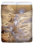 White Canyons Cascade Duvet Cover