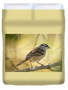 White-crowned Sparrow Pictures 63 Duvet Cover