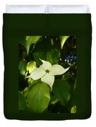White Dogwood Duvet Cover