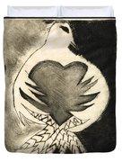 White Dove Art - Comfort - By Sharon Cummings Duvet Cover