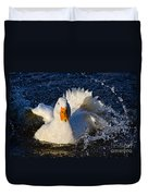 White Duck 1 Duvet Cover