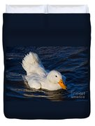 White Duck 2 Duvet Cover
