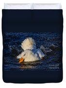 White Duck 3 Duvet Cover