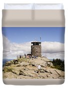White Face Lookout Duvet Cover