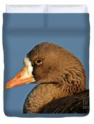 White-fronted Goose Duvet Cover