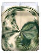 White Gold Ball Duvet Cover