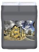 White Hart At Todmorden  Duvet Cover