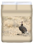 White-headed Vulture  Trigonoceps Occipitalis Duvet Cover