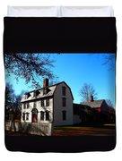 White House Of Deerfield Duvet Cover