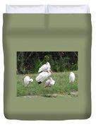 White Ibis Bliss Duvet Cover