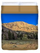 White Knob Mountain Peak Duvet Cover