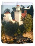 White Lighthouse Duvet Cover