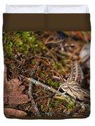 White-lined Sphinx Moth Duvet Cover