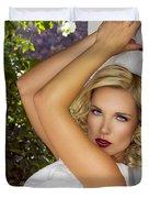 White Linen Palm Springs Duvet Cover