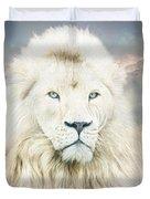 White Lion - Spirit Of Goodness Duvet Cover