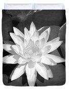 White Lotus 2 Duvet Cover