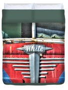 White Motor Company Highway Post Office U. S. Mail No 1 Duvet Cover