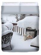 White On White Duvet Cover