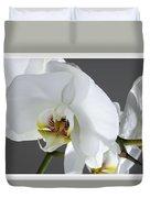 White Orchid 1b Duvet Cover