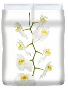 White Orchid-4783 Duvet Cover