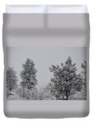 White Out Duvet Cover