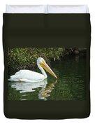 White Pelican Duvet Cover