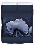 White Peon Duvet Cover