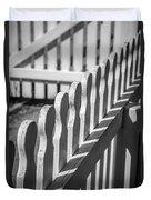 White Picket Fence Portsmouth Duvet Cover