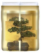 White Pine Bonsai Duvet Cover