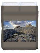 White Pocket Arizona 1 Duvet Cover