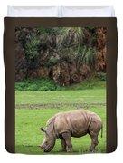 White Rhino 14 Duvet Cover