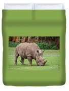 White Rhino 5 Duvet Cover