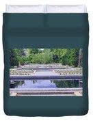White River Gardens Duvet Cover