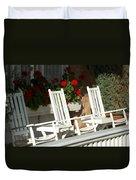 White Rockers Flower 21160 Duvet Cover