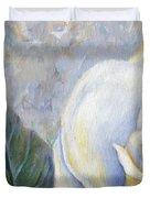 White Rose One Panel One Of Four Duvet Cover