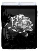 White Rose Duvet Cover by Robert Bales